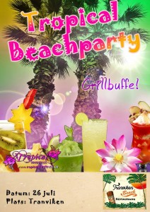 tropical beachparty